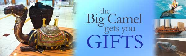 Big Camel gets your Gifts!