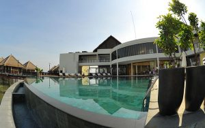 Swimming pool at Golden Palm Tree