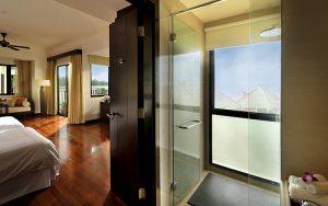 Bedroom in Golden Palm Tree villa