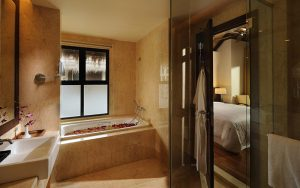 Bathroom in the room